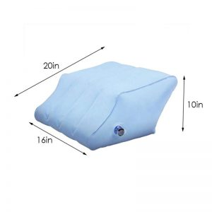 Leg Wedge Pillow Inflatable Pillow With Pump