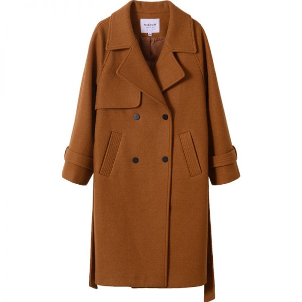 Long Overcoat For Ladies Fashion Apparel 4