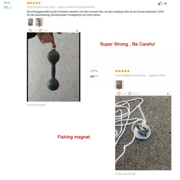 Magnet Fishing Magnets Powerful Magnetic Tool 3