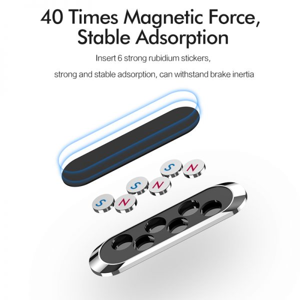 Magnetic Cell Phone Holder For Car Dashboard 4