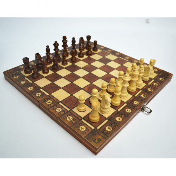Magnetic Chess Board Foldable Game Set 1