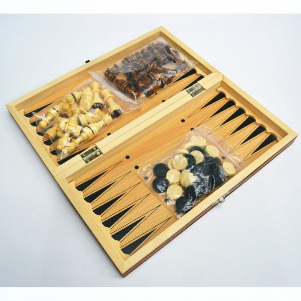 Magnetic Chess Board Foldable Game Set 2