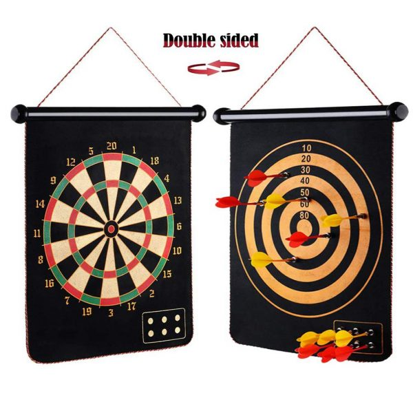 Magnetic Dart Board with 6PCS Darts 1