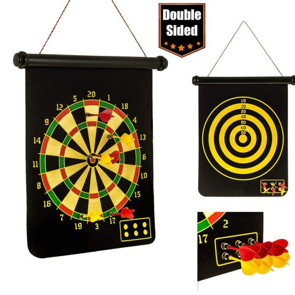 Magnetic Dart Board with 6PCS Darts 2