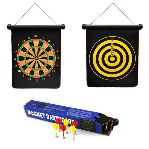 Magnetic Dart Board with 6PCS Darts