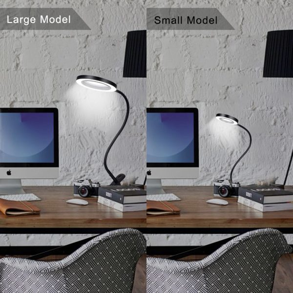 Magnifier with Light Flexible Lamp 4