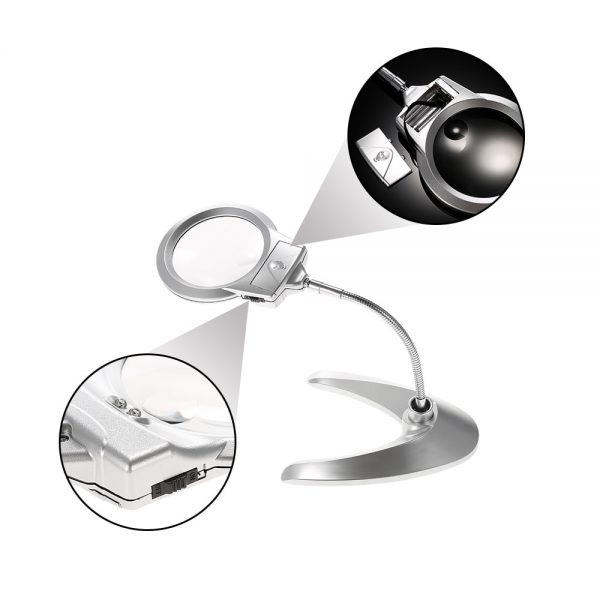 Magnifying Glass With Light Magnifier Tool 2