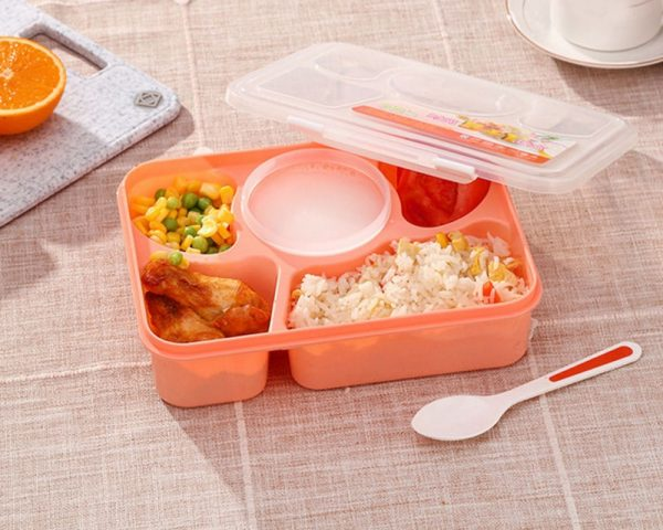 Microwavable Lunch Containers Bento Box