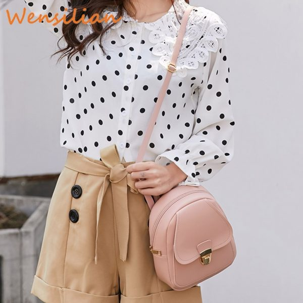 Mini Backpack For Women Leather Bag 1