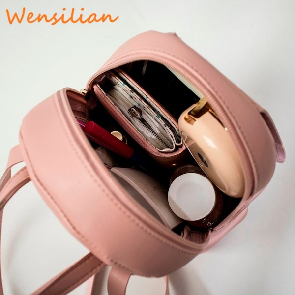 Mini Backpack For Women Leather Bag 2