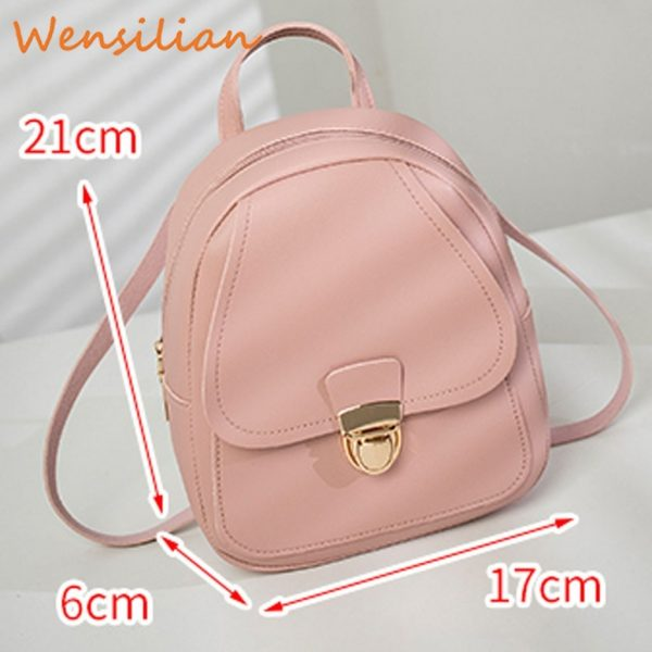 Mini Backpack For Women Leather Bag 4