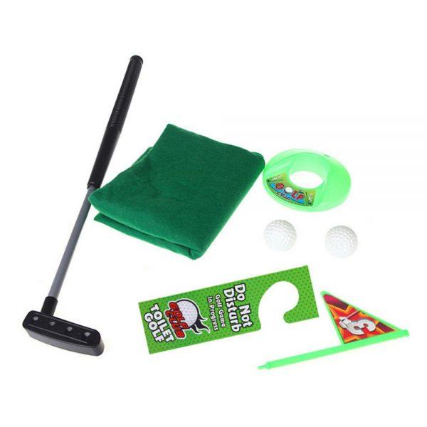 Mini Golf Set Bathroom Putter Exercise 4
