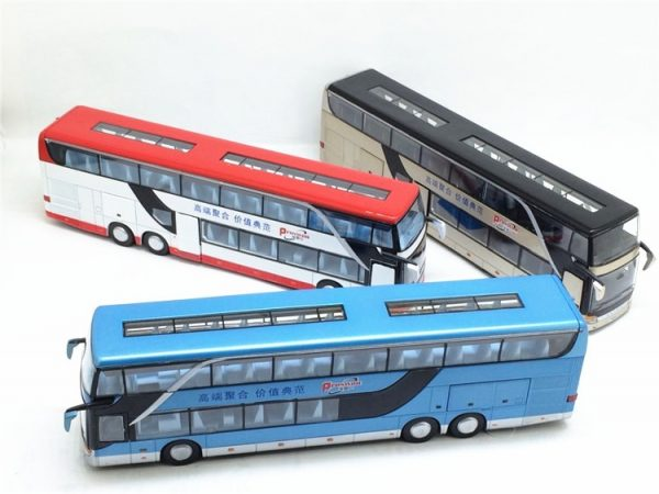 Model Bus Realistic Toy Vehicle 1