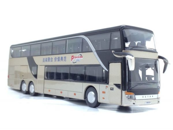 Model Bus Realistic Toy Vehicle 2