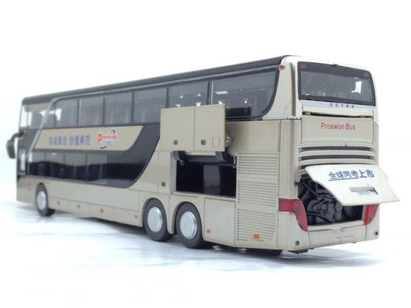 Model Bus Realistic Toy Vehicle 3