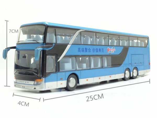 Model Bus Realistic Toy Vehicle 4