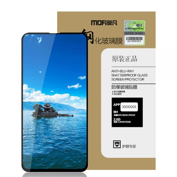 Mofi 2.5D Curved Edge AGC Tempered Glass Screen Protector For Samsung Galaxy S10e Full Screen Film 3