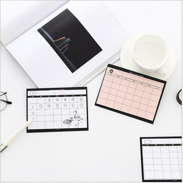 Monthly Planner Paper Pad (30 sheets)