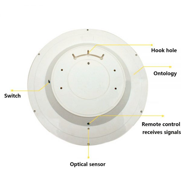 Moon Wall Light with Remote Control 2