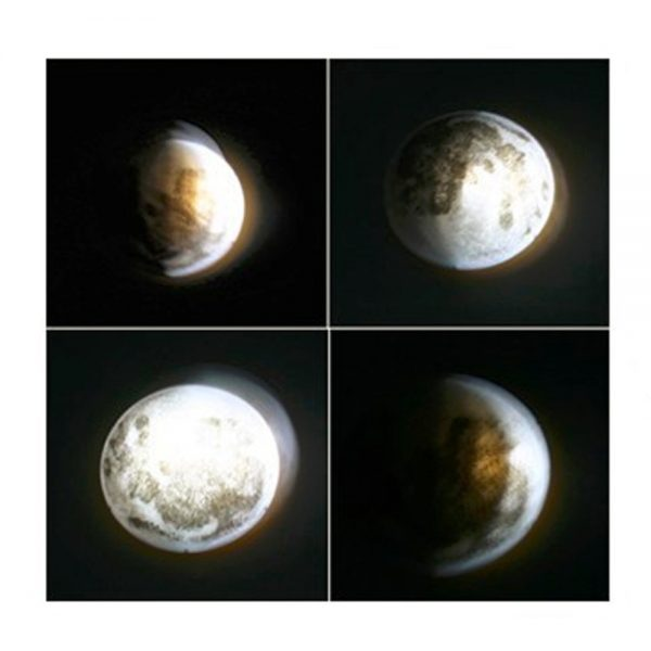 Moon Wall Light with Remote Control 3