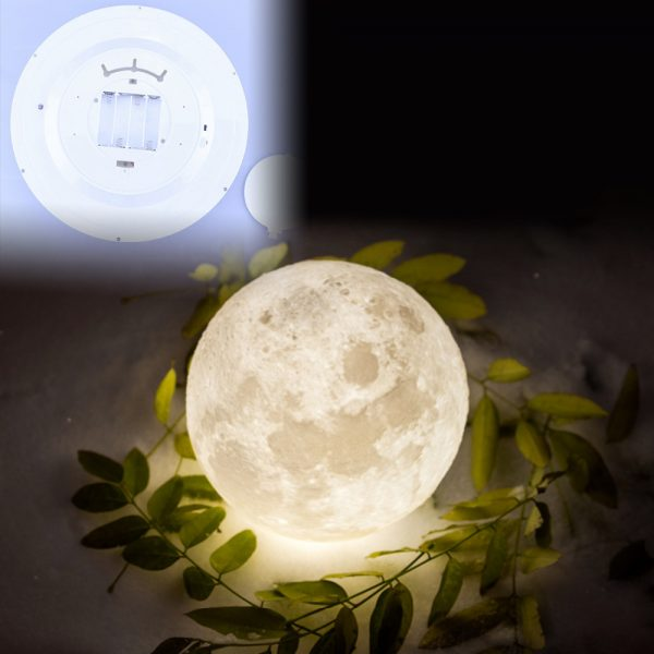 Moon Wall Light with Remote Control 4