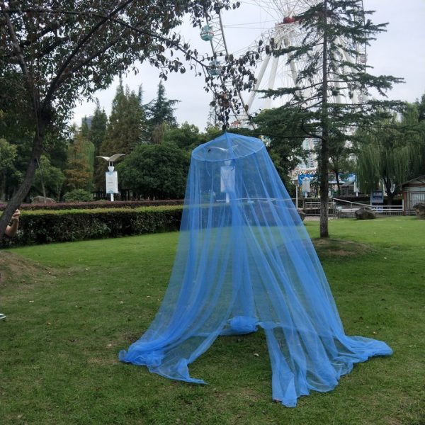 Mosquito Net Curtain Repellent Tent Insect Circular 1.5m bed 3