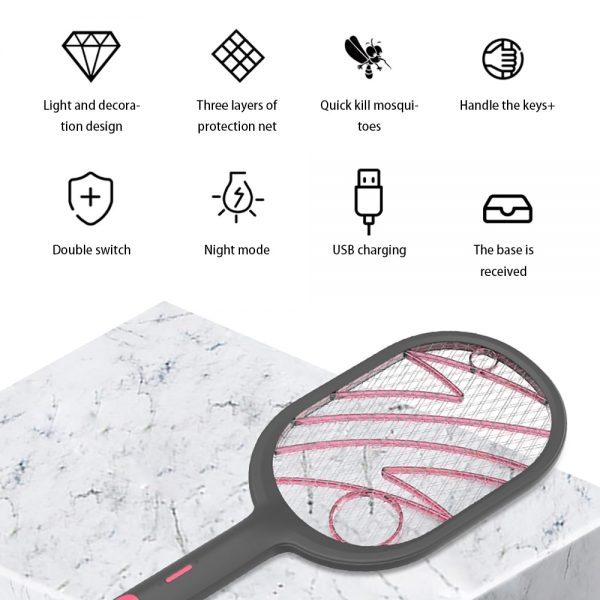 Mosquito Swatter Electric Device 2