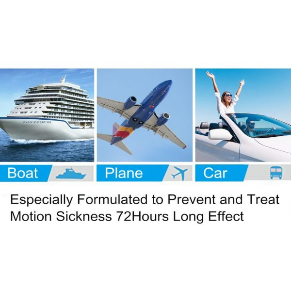Motion Sickness Patch Topicals 10 pieces 4