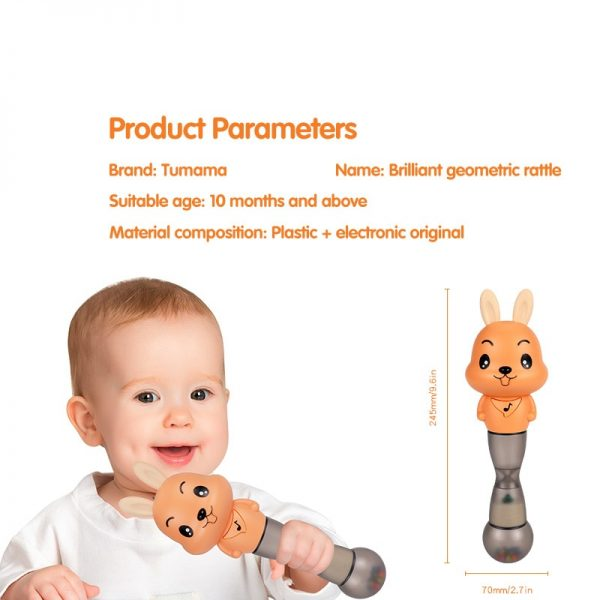 Musical Toys For Babies Hammer Rattle