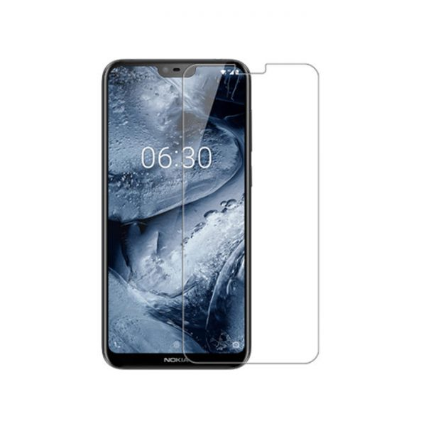 NILLKIN HD Clear Anti Fingerprint PET Soft Front Screen Protector With Camera Protector For NOKIA X6 1