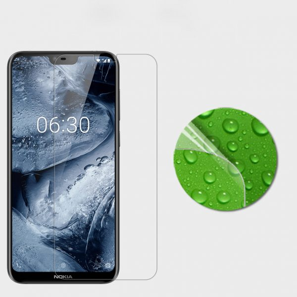 NILLKIN HD Clear Anti-Fingerprint PET Soft Front Screen Protector With Camera Protector For NOKIA X6