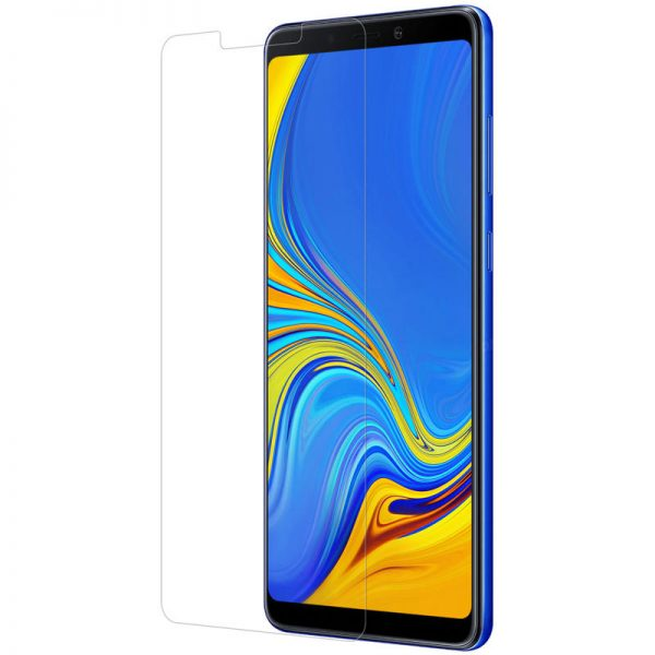Nillkin Explosionproof Tempered Glass Screen With Rear Camera Lens Protector For Samsung Galaxy A9 2018 2.5 Curved Edge Film 1