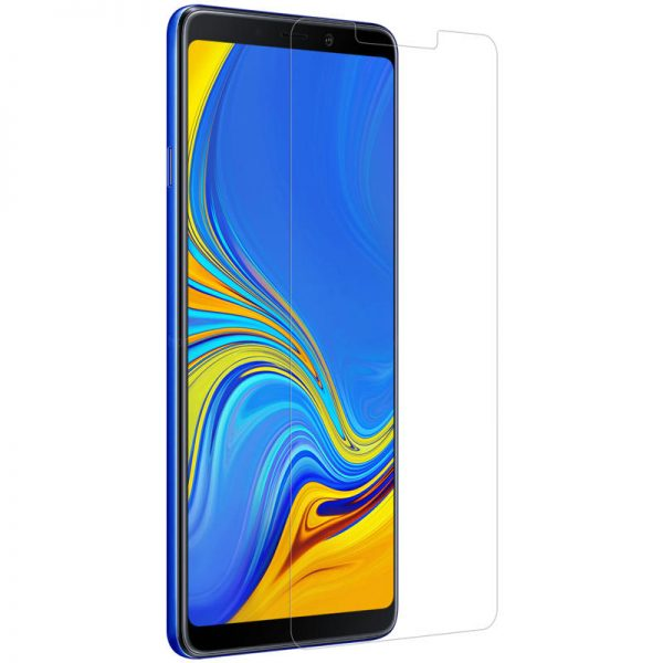 Nillkin Explosionproof Tempered Glass Screen With Rear Camera Lens Protector For Samsung Galaxy A9 2018 2.5 Curved Edge Film 2