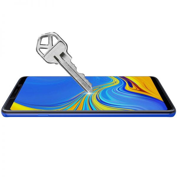 Nillkin Explosionproof Tempered Glass Screen With Rear Camera Lens Protector For Samsung Galaxy A9 2018 2.5 Curved Edge Film 3