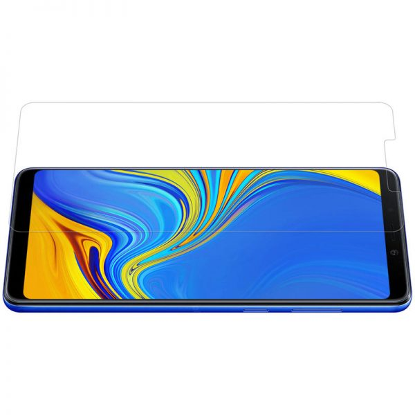 Nillkin Explosionproof Tempered Glass Screen With Rear Camera Lens Protector For Samsung Galaxy A9 2018 2.5 Curved Edge Film 4