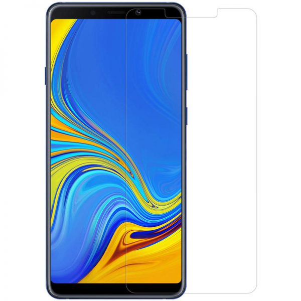 Nillkin Explosionproof Tempered Glass Screen With Rear Camera Lens Protector For Samsung Galaxy A9 2018 2.5 Curved Edge Film