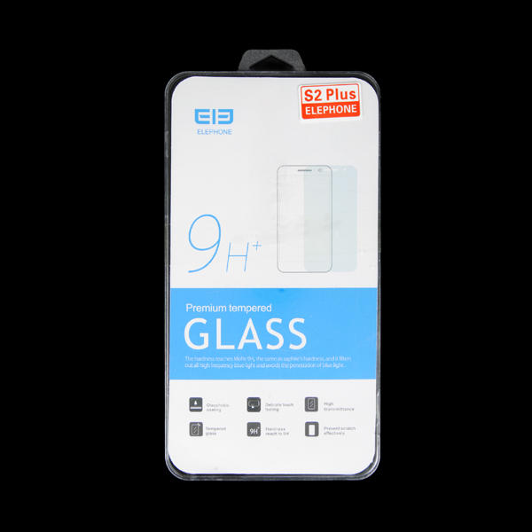 Original Front and Back Tempered Glass Screen Protector For Elephone S2 Plus 8