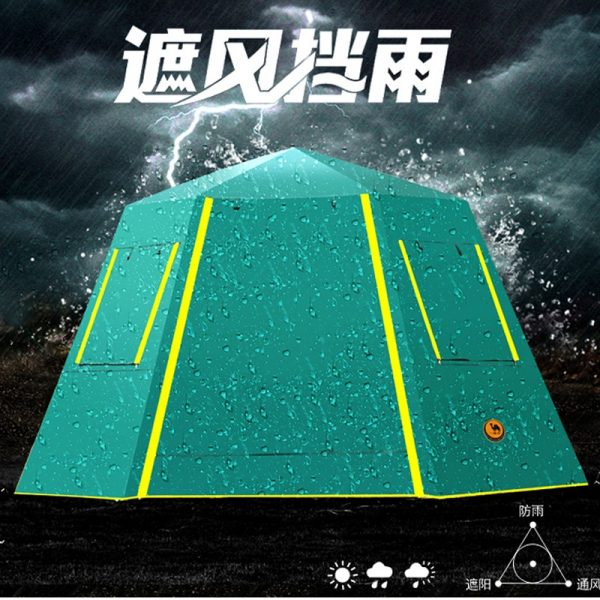 Outdoor Tent 4 Person Capacity 1