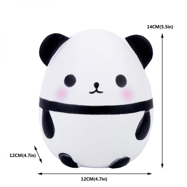 Panda Squishy Slow Rising Soft Squeeze Toy 4
