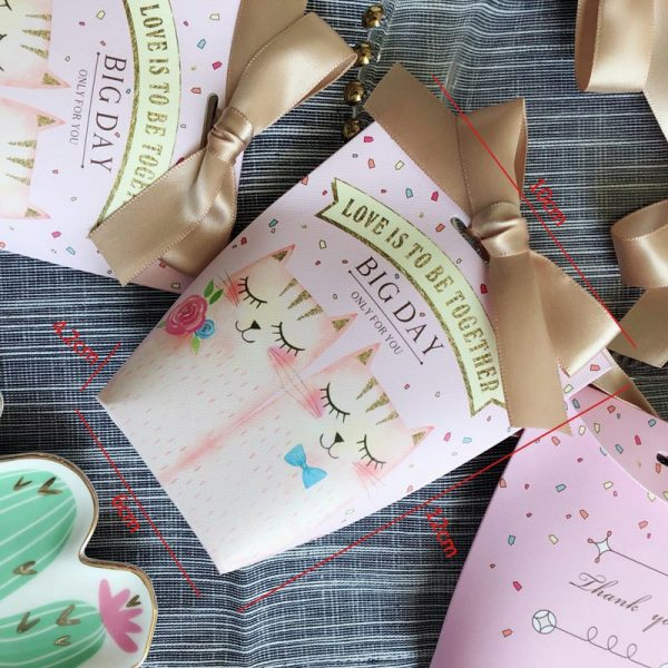 Paper Gift Bags 5pcs Small Pouches 1