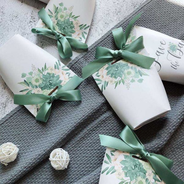 Paper Gift Bags 5pcs Small Pouches 2