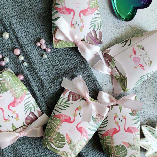 Paper Gift Bags 5pcs Small Pouches 4