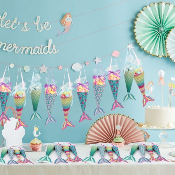 Party Favor Bags Mermaid Candy Bag