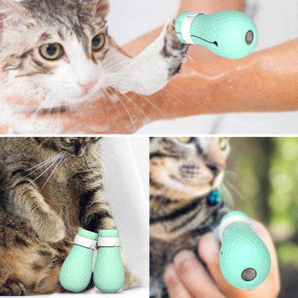 Paw Protection Cat Anti Scratch Shoes 4