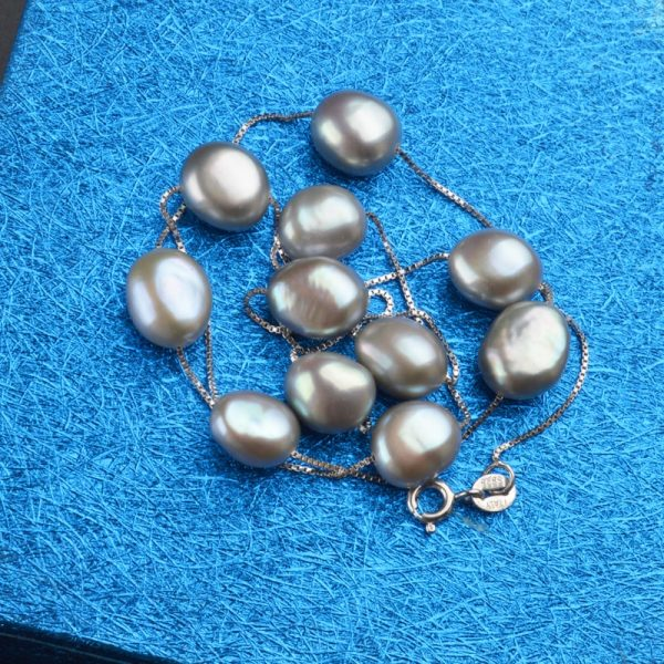 Pearl Necklace Natural Freshwater Pearls 3
