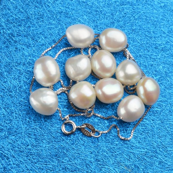 Pearl Necklace Natural Freshwater Pearls 4
