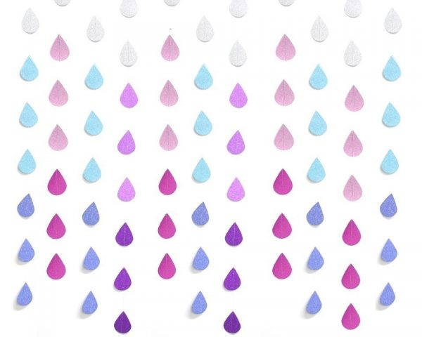 Personalized Banners Raindrop String 1