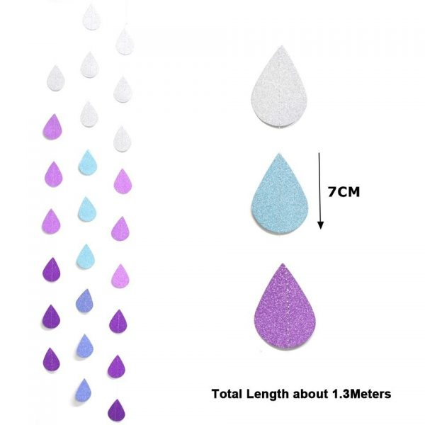 Personalized Banners Raindrop String 4