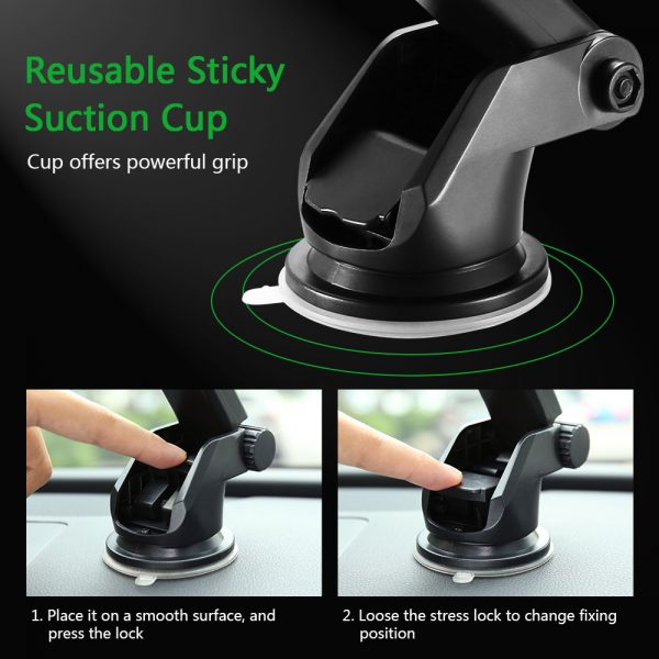 Phone Stand For Car Powerful Grip 1