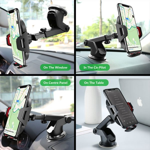 Phone Stand For Car Powerful Grip 2